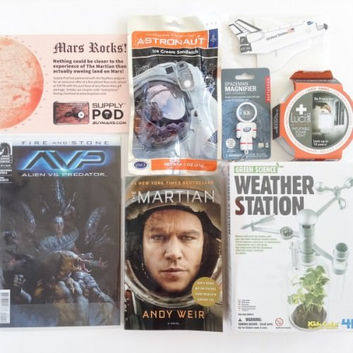 Supply Pod by Outer Places Subscription Box – November 2015