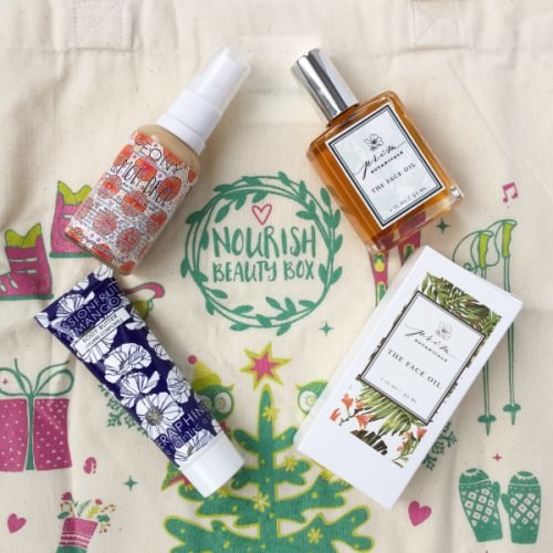 Nourish Beauty Box Review – December 2015