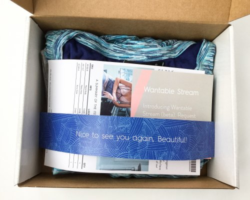 Wantable Intimates Box Review – February 2016