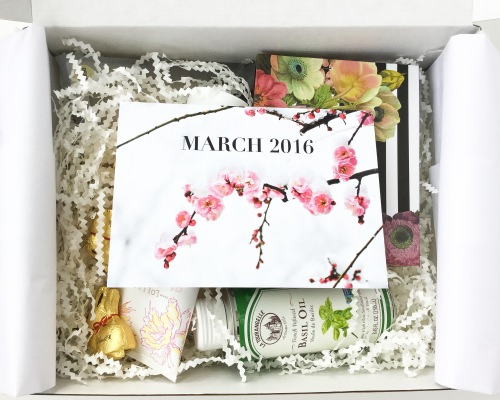 White Willow Box Review – March 2016