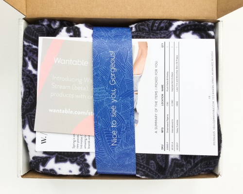 Wantable Intimates Box Review – March 2016