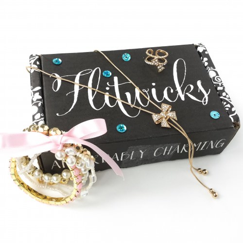 Flitwicks Jewelry Subscription Box Review – March 2016