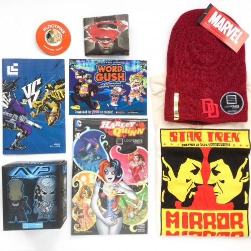Loot Crate Review + Coupon Code – March 2016