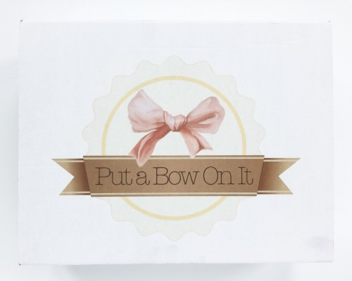 Put a Bow On It Subscription Box Review + Coupon Code – April 2016