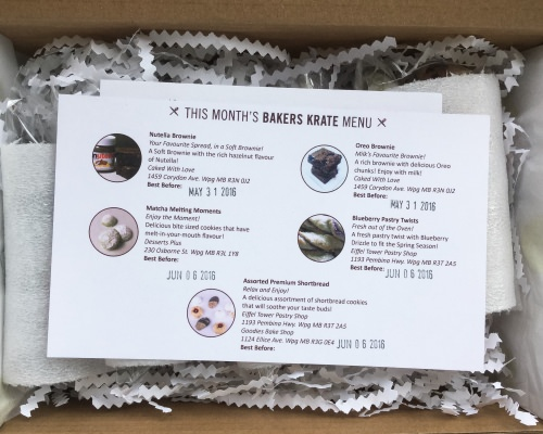 Bakers Krate Review + Coupon Code – May 2016
