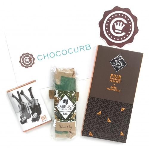 Chococurb Mini Review - Chocolate Subscription Box - April 2016