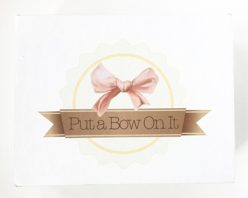 Put a Bow On It Subscription Box Review + Coupon Code – June 2016