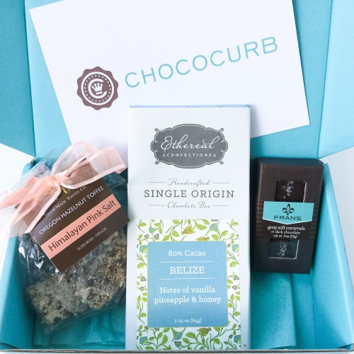 Chococurb Mini Review – Chocolate Subscription Box – June 2016