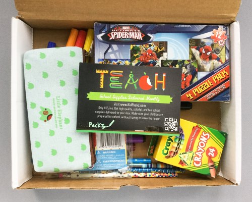 Kidpackz Subscription Box Review + Coupon Code – July 2016