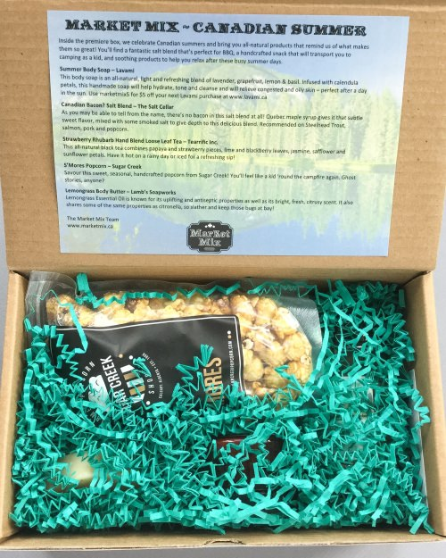 Market Mix SubscriptionBox Review + Promo Code – July 2016