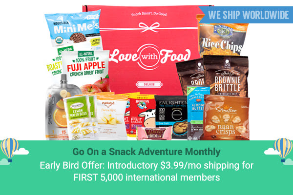 At Last, Love With Food Is Shipping To Canada!
