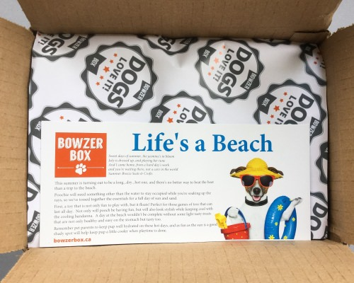 Bowzer Box Review + Discount Code – July 2016