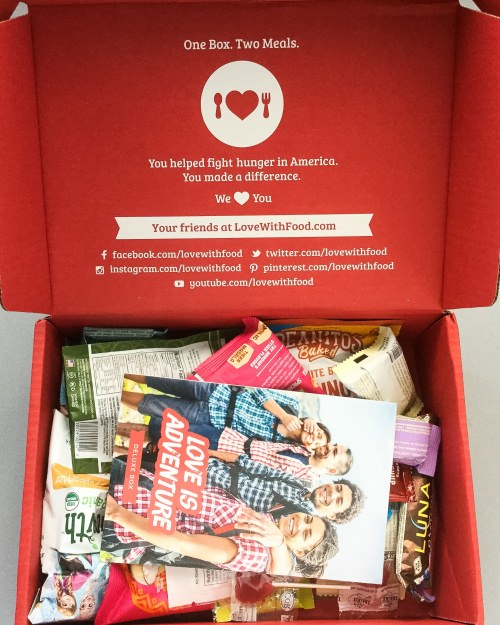 Love With Food Subscription Box Review + Promo Code – July 2016