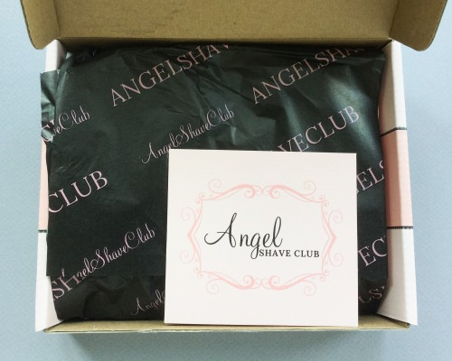 Angel Shave Club Subscription Box Review – July 2016