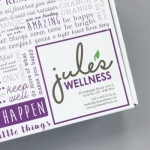 Jule's Wellness Lifestyle Box Review + Promo Code – August 2016