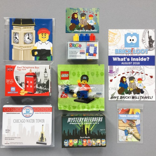 Brick Loot Review + Coupon Code – August 2016