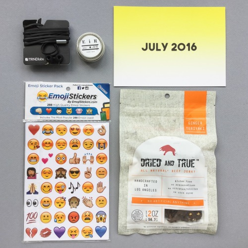 Craftly Subscription Box Review – July 2016