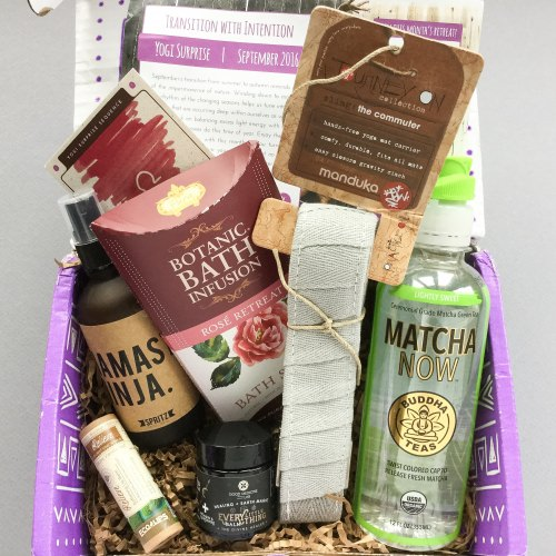 Yogi Surprise Subscription Box Review + Coupon Code – September 2016