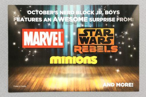 Nerd Block Jr. Boys Review + Promo Code – September 2016