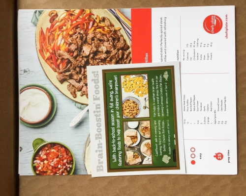 Chef's Plate Review + Promo Code – September 2016