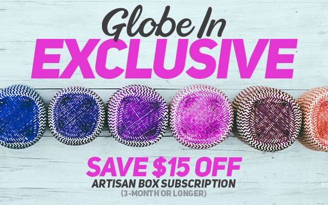 GlobeIn Exclusive $15 Off Coupon Code!