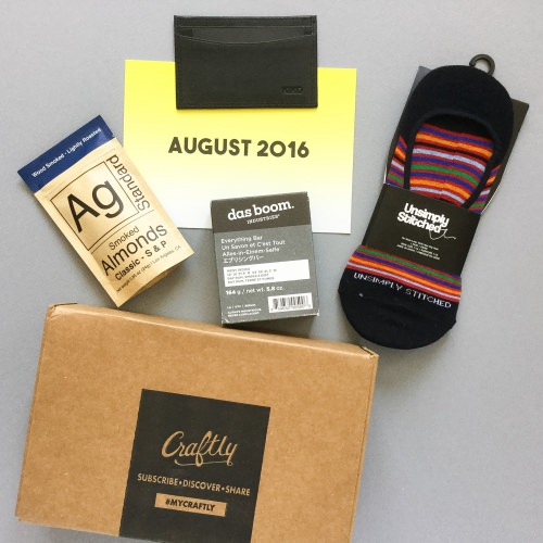 Craftly Subscription Box Review – August 2016
