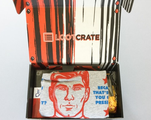 Loot Crate Review + Coupon Code – August 2016