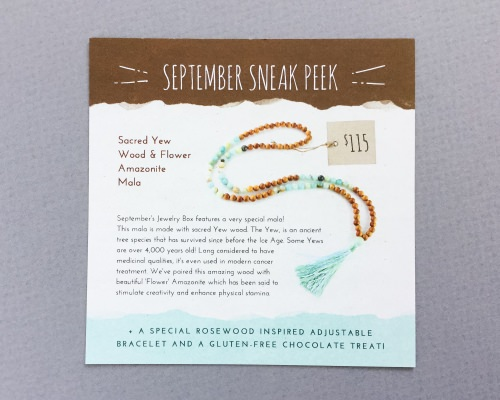 Yogi Surprise Jewelry Subscription Box Review + Coupon Code – August 2016