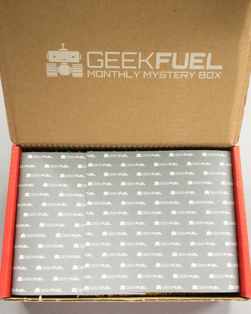Geek Fuel Subscription Box Review – September 2016