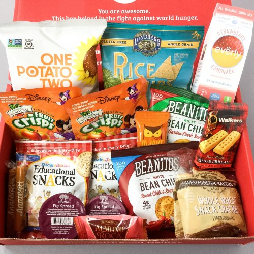 Love With Food Subscription Box Review + Promo Code- October 2016