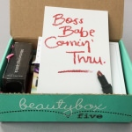 Beauty Box 5 Review – October 2016