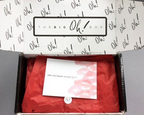 The Big Oh! Box Review + Coupon Code – October 2016