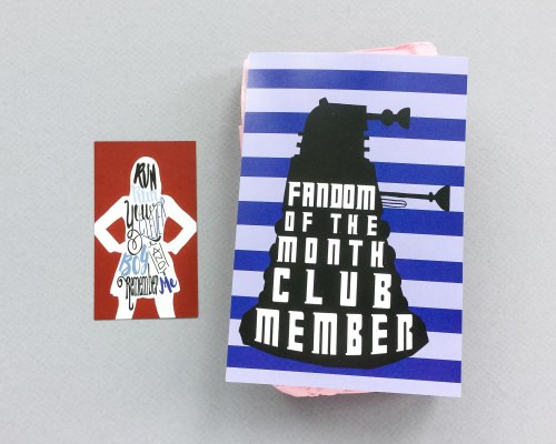 Fandom of the Month Club Review + Coupon Code – October 2016