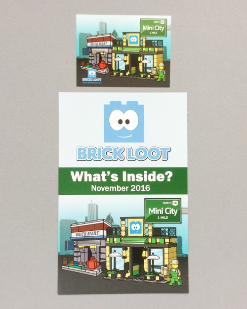 Brick Loot Review + Coupon Code – November 2016