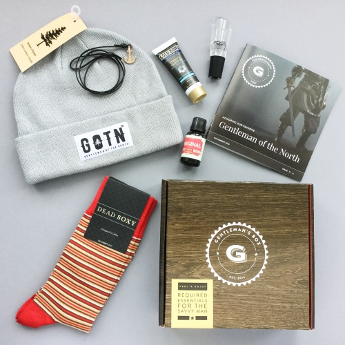 Gentleman's Box Review + Coupon Code – November 2016