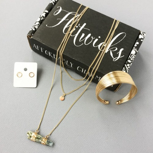 Flitwicks Jewelry Subscription Box Review + Promo Code – November 2016