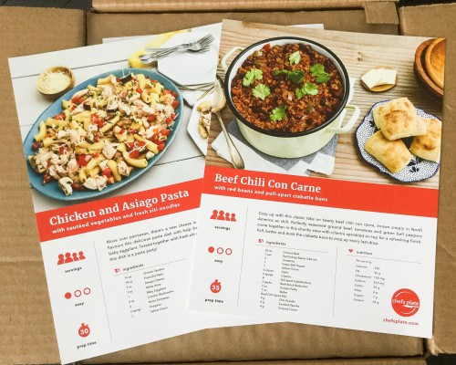 Chef's Plate Review + Promo Code – November 2016