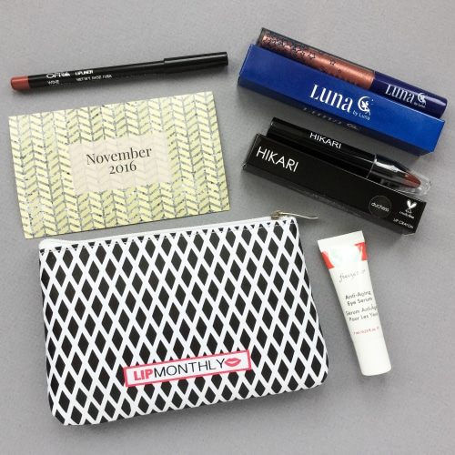 Lip Monthly Review + Coupon Code – November 2016