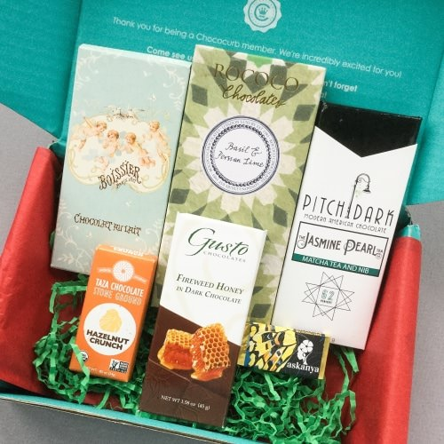 Chococurb Subscription Box Review + Promo Code – November 2016