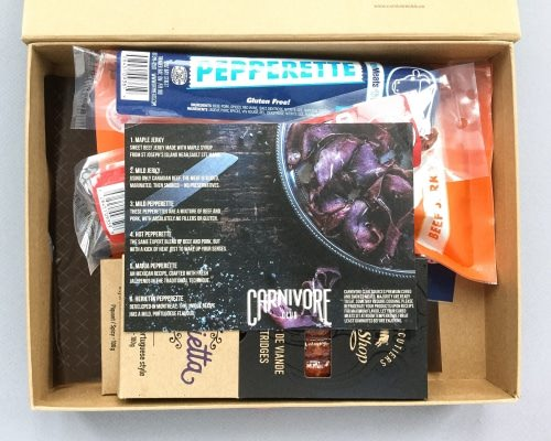 Carnivore Club Subscription Box Review + Promo Code – December 2016