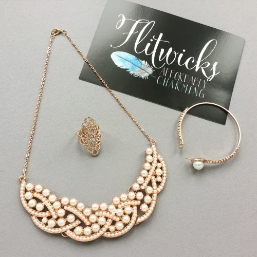 Flitwicks Jewelry Subscription Box Review + Promo Code – December 2016