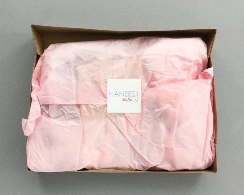 Hanee21 Perfect Style Box Review – December 2016
