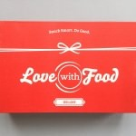 Love With Food Subscription Box Review + Promo Code – December 2016