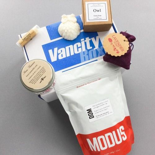 Vancity Box Review + Coupon Code – January 2017