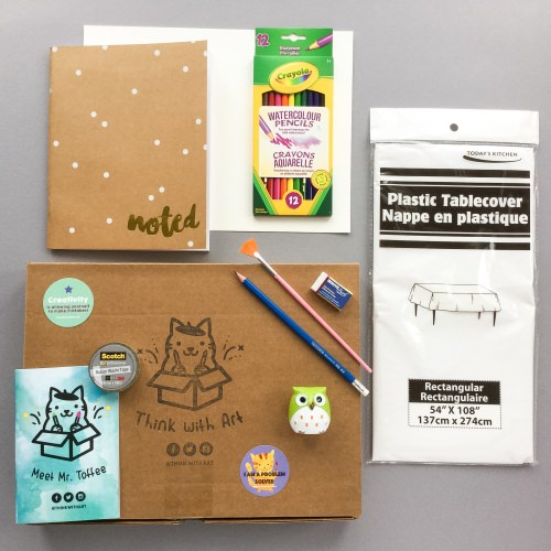 Think With Art Subscription Box Review + Promo Code – January 2017