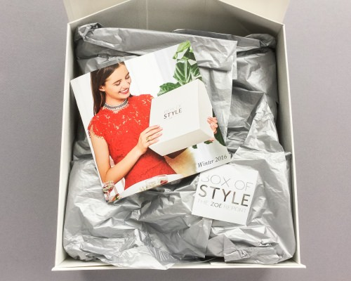 The Zoe Report Box of Style Review + Promo Code – Winter 2016