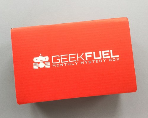 Geek Fuel Subscription Box Review – Janaury 2017