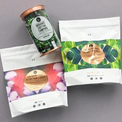 L Organic Pads >> This Is L Subscription Box Review January 2017 Girl