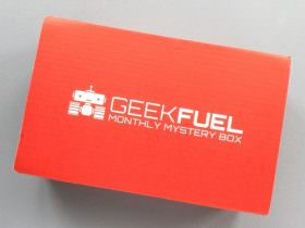 Geek Fuel Subscription Box Review + Discount – February 2017