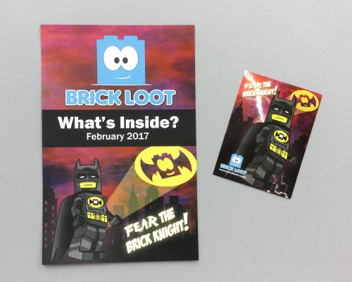 Brick Loot Review + Coupon Code – February 2017